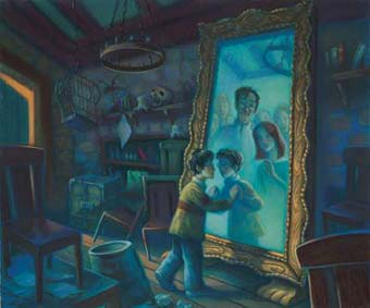 In search of the empty nest the mirror of erised for Espejo harry potter