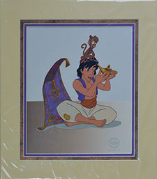 Cel ebration animation art gallery presents disney 2 d for Aladdin carpet animation